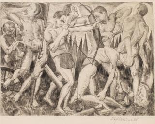 Bitwa (Walka), około 1924