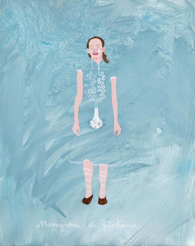 """""""Maszynka do płakania"""" (Karolcia), z cyklu: """"Dziewczynki - maszynki"""", 2011"""