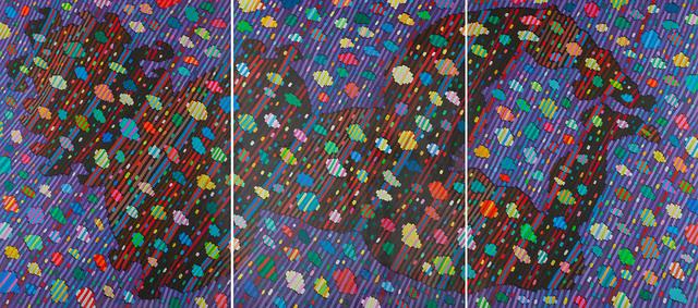 """Uniwersum VII"" - tryptyk, 2000"