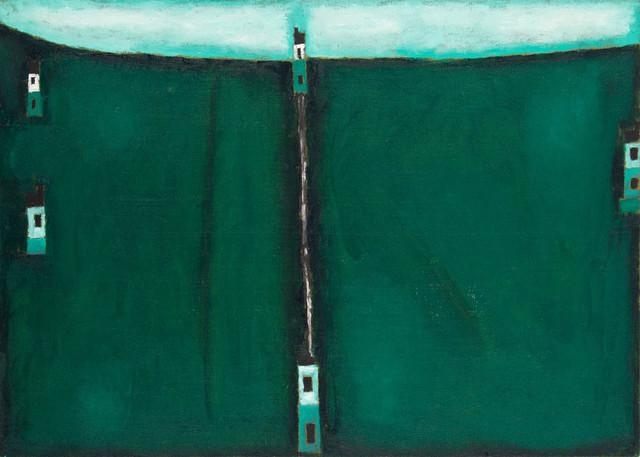 """""""Pejzaż zielony II"""", 1985"""