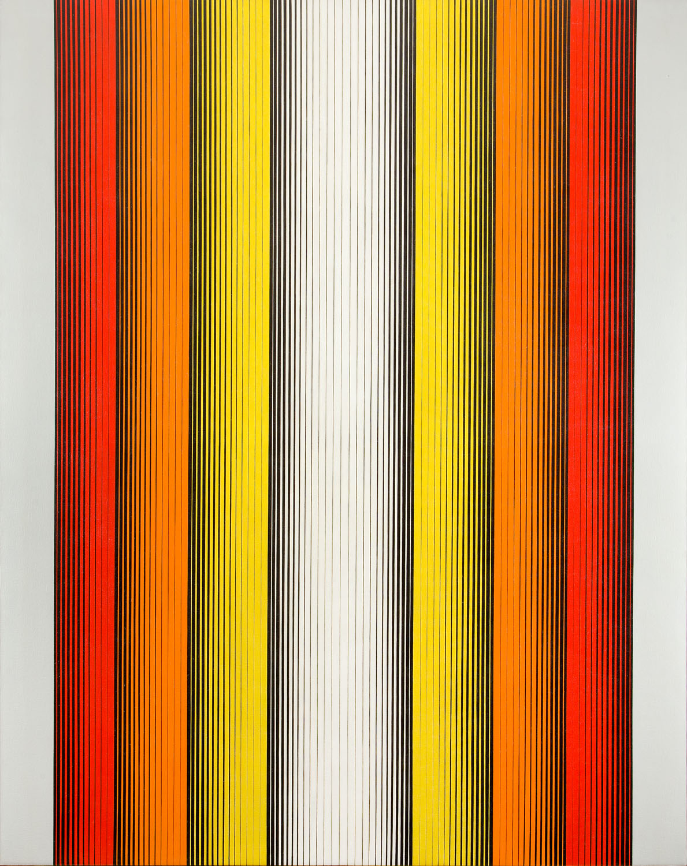 """D-156"" (Vertical Red, Orange, Yellow)"