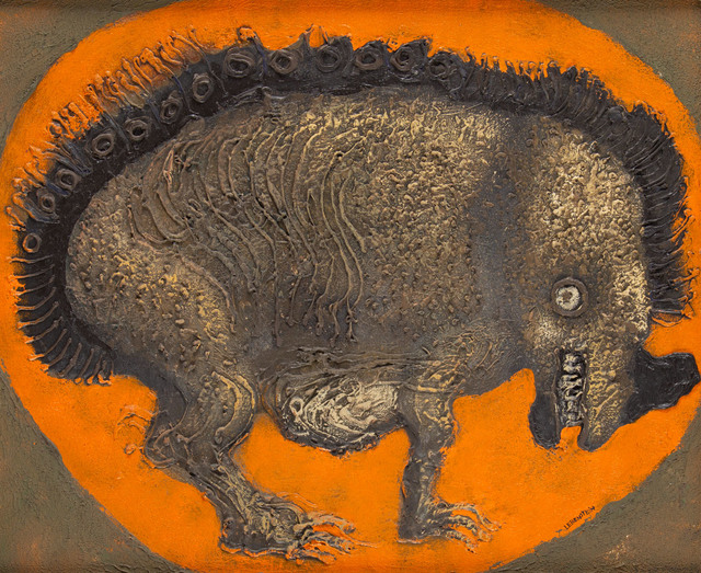 """""""Rhinoceros - Bête"""", 1974"""