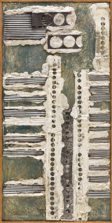 """Kompozycja fakturowa nr 241"", 1959"