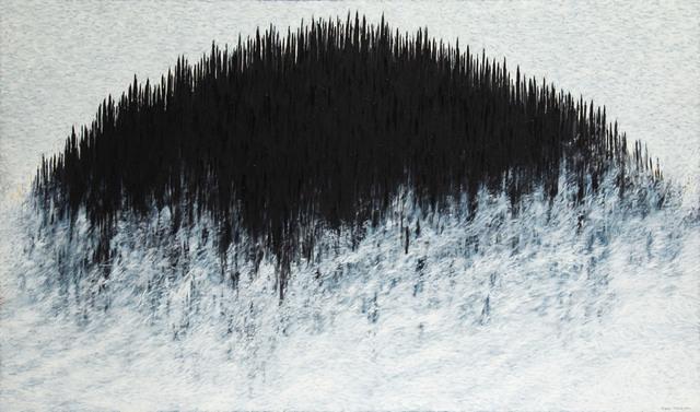 """""""Czarne wzgórze"""" (""""Black hill""""), 1991"""