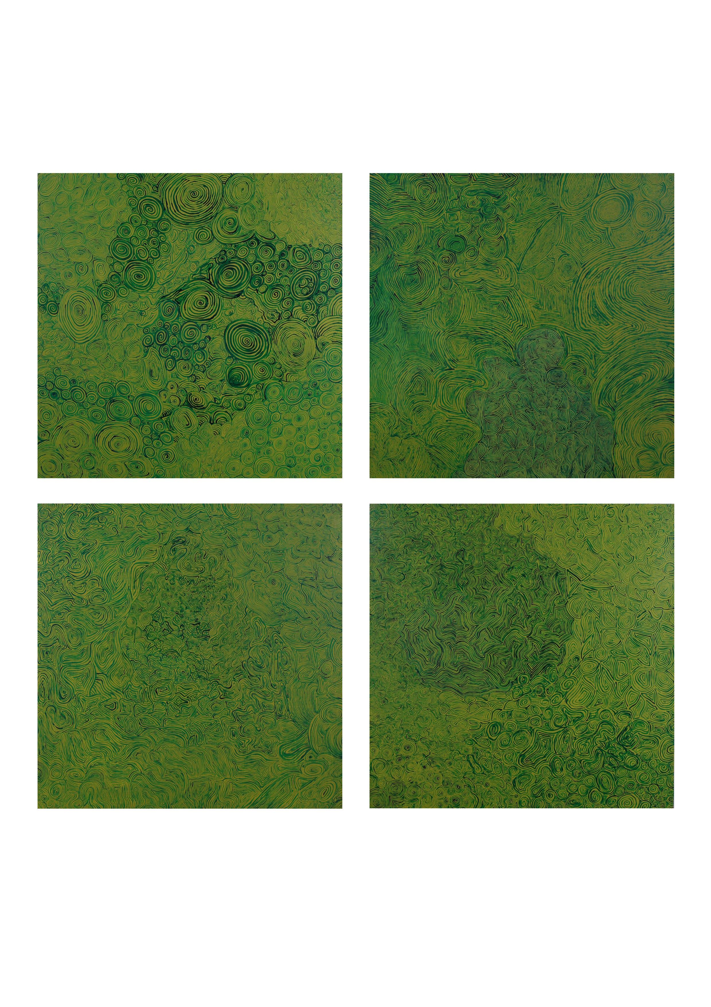"""""""Emotapety GREEN"""", 2006"""