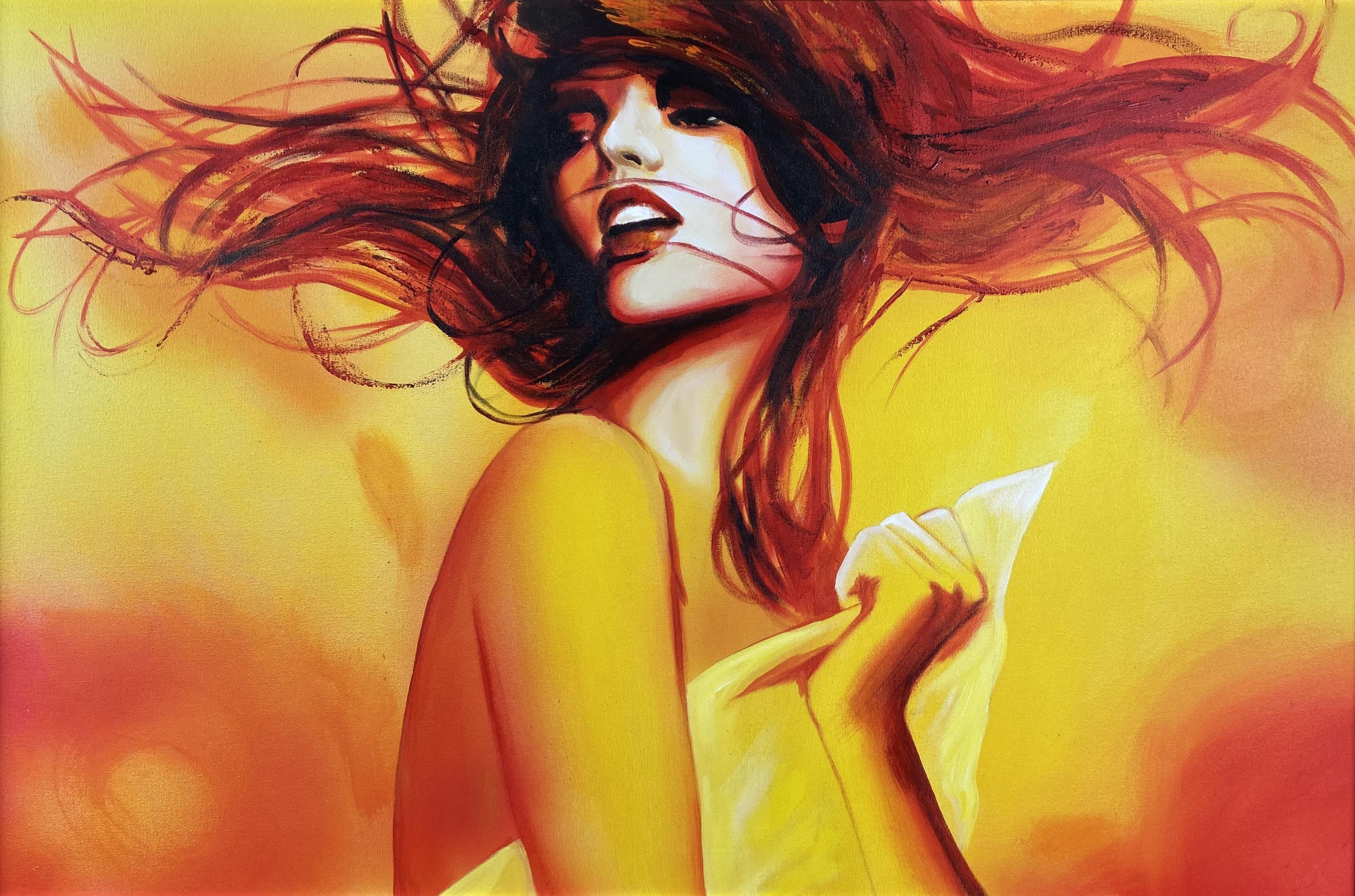 """""""Dziewczyna z rozwianymi włosami"""", 2007"""