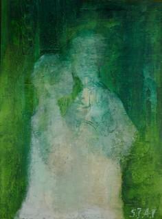 """""""Adam i Ewa (zielony)"""", 2000"""