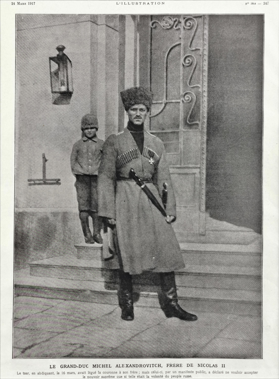 Wielki Książę Michaił Alexandrovich