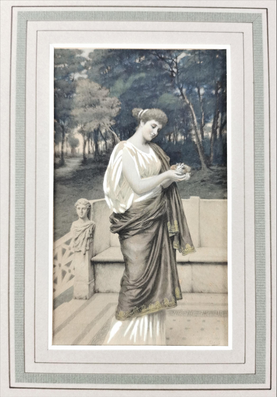 Kobieta na tarasie