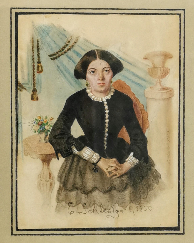 E. SCHLESIGER (czynny ok. połowy XIX w.)