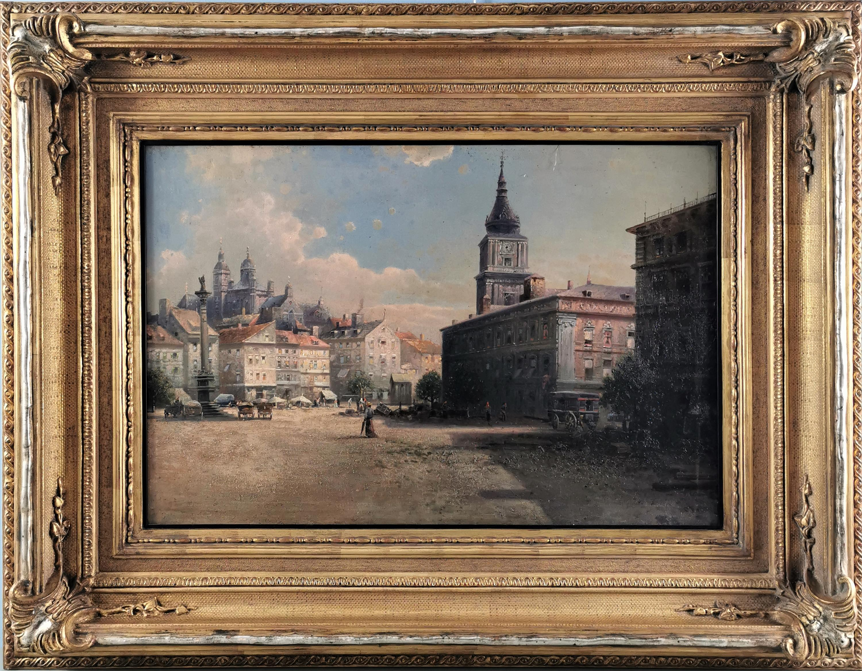 Plac Zamkowy w Warszawie, XIX/XX w.