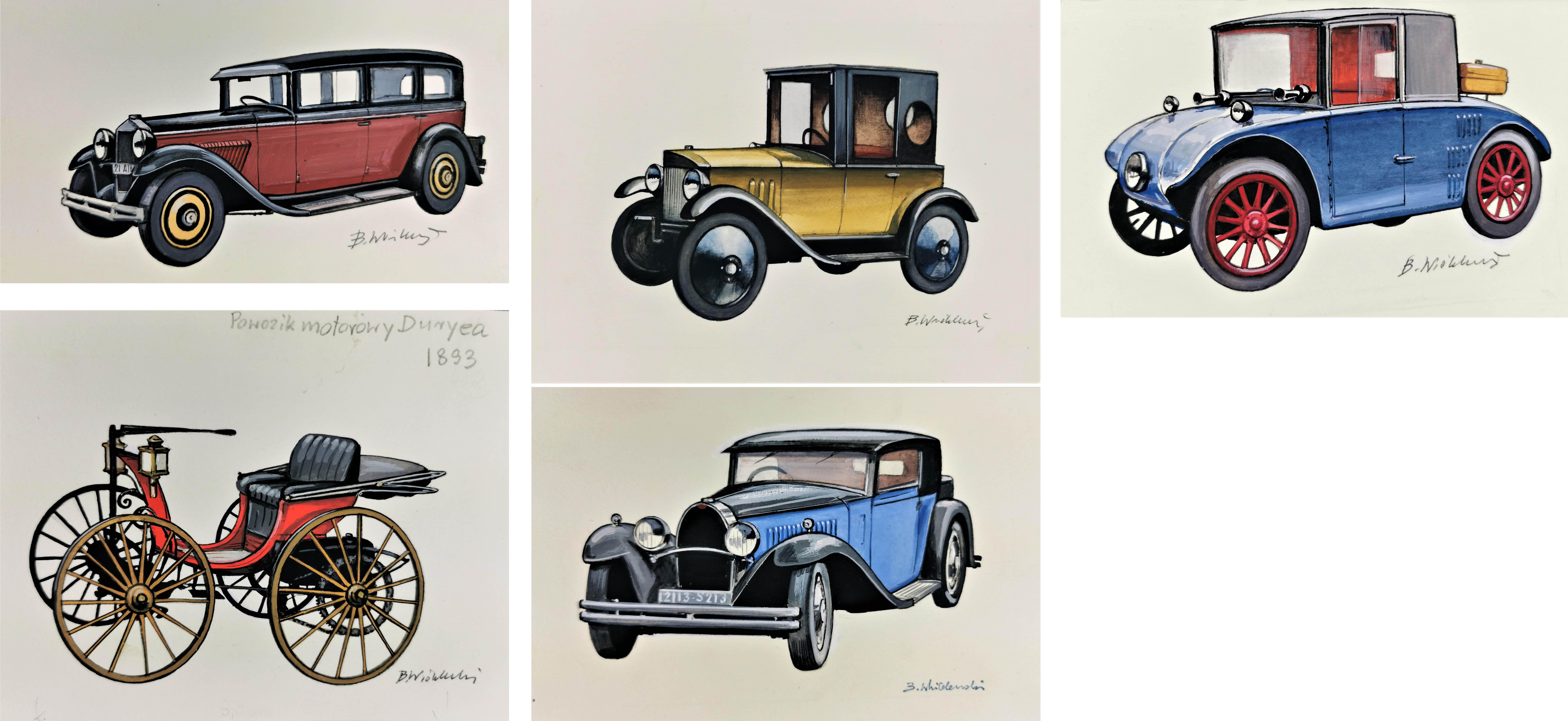 Stare samochody, lata 90. XX w.