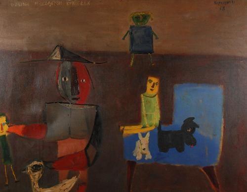 Dolina milczących kukiełek, 1958