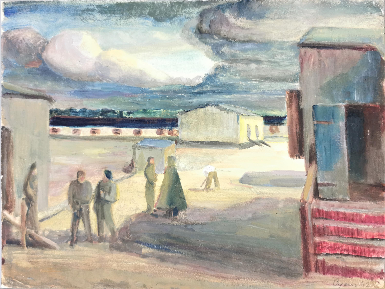 W porcie, 1942
