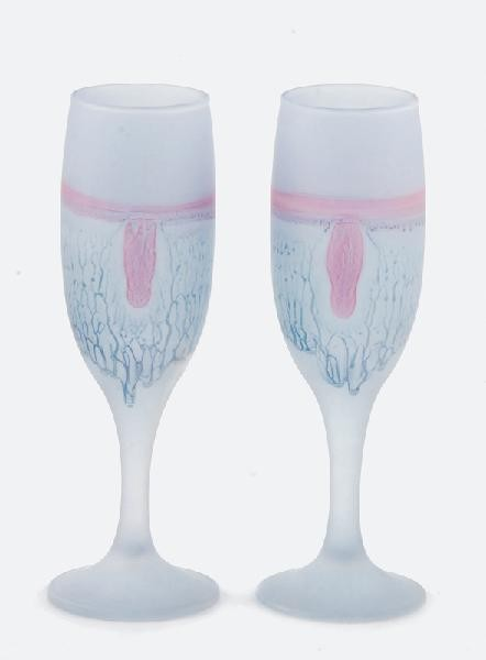 Kieliszki do szampana - 5 szt.