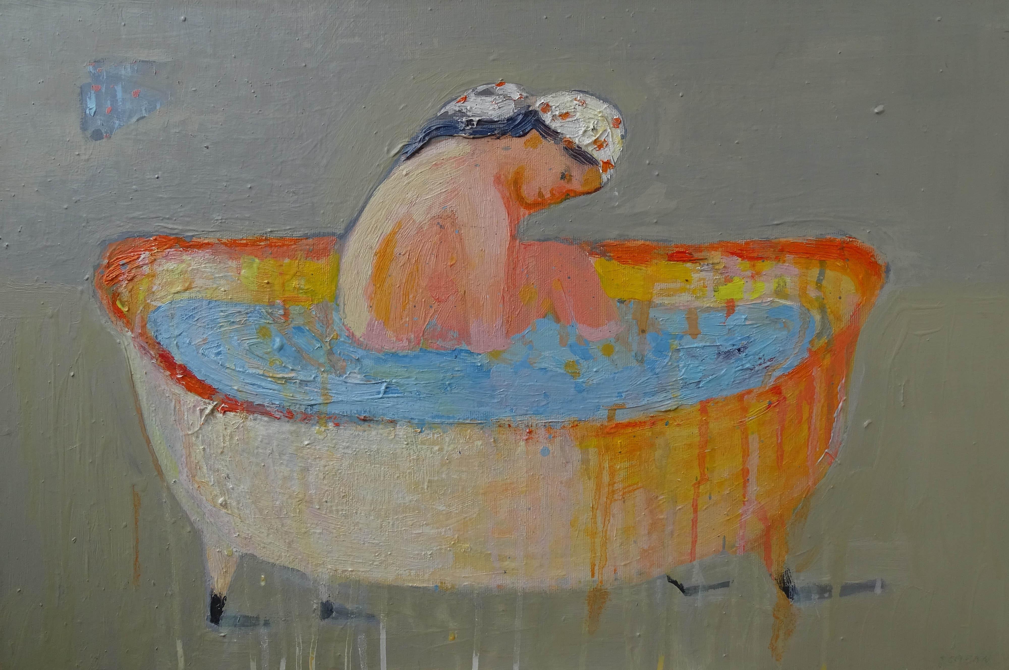 """""""Dziewczyna w wannie"""", 2019"""
