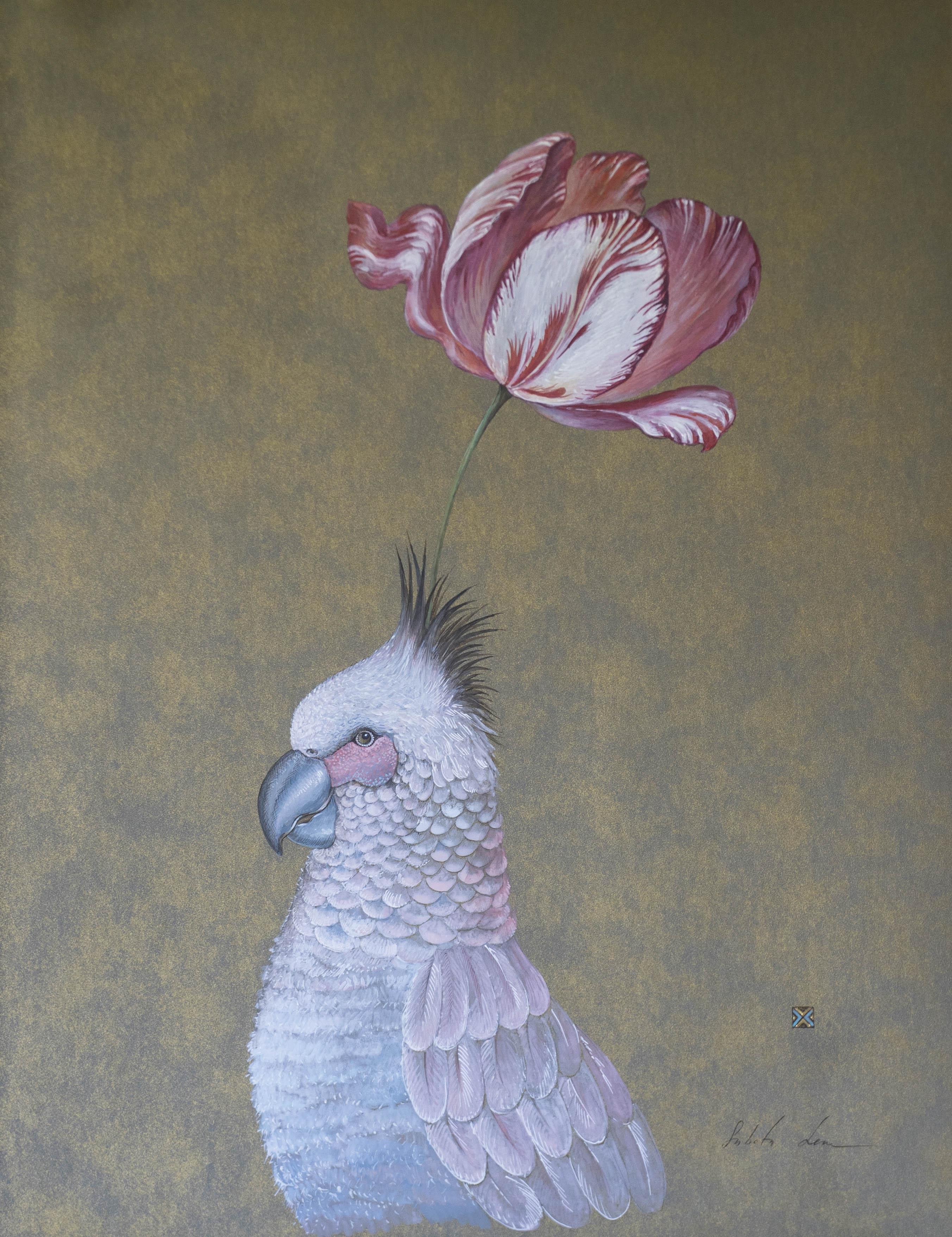 """Papuga z tulipanem"""