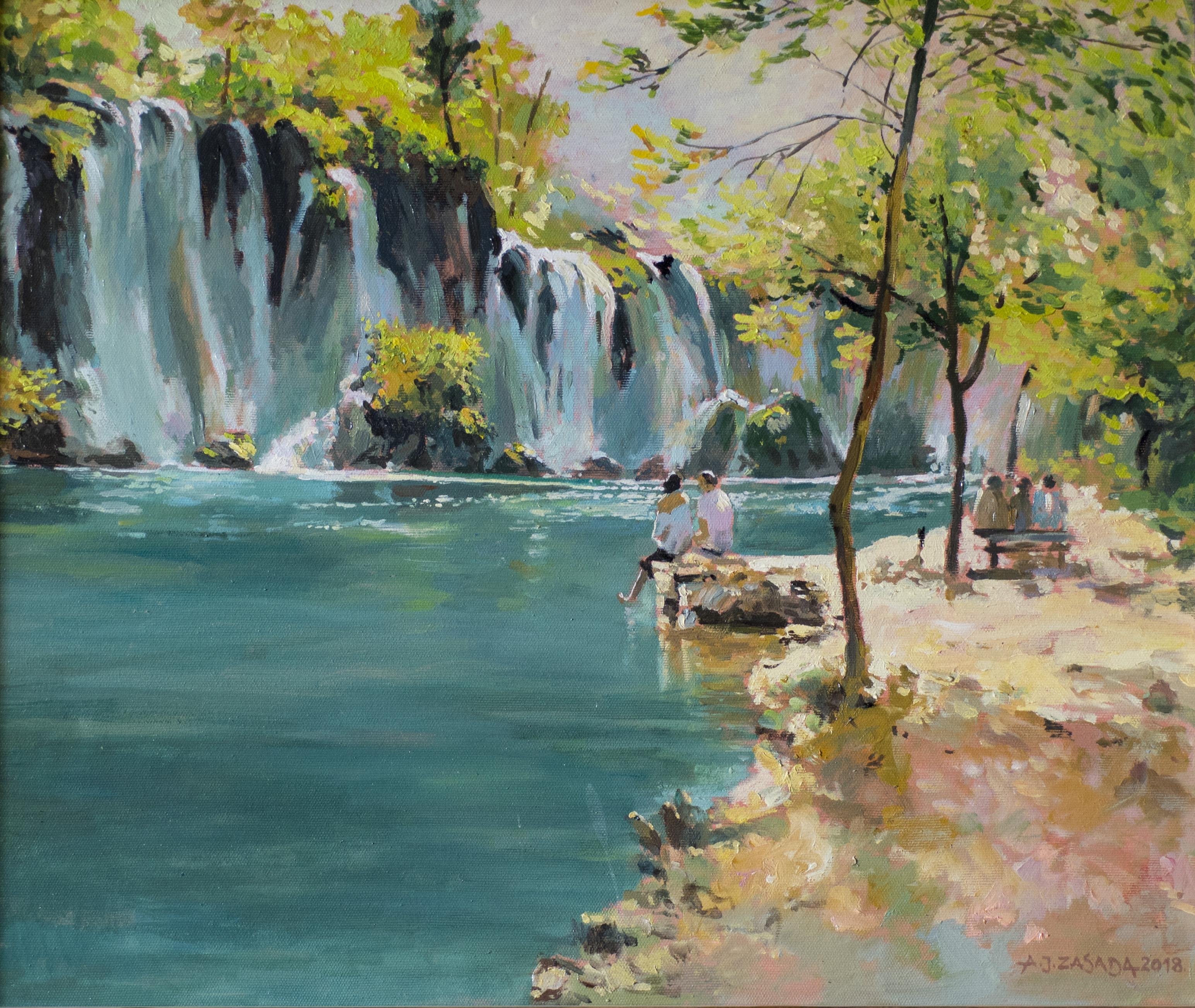"""""""Wodospady Plitwickie"""", 2018"""