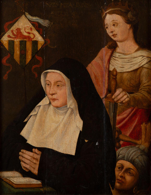 Św. Katarzyna z donatorką
