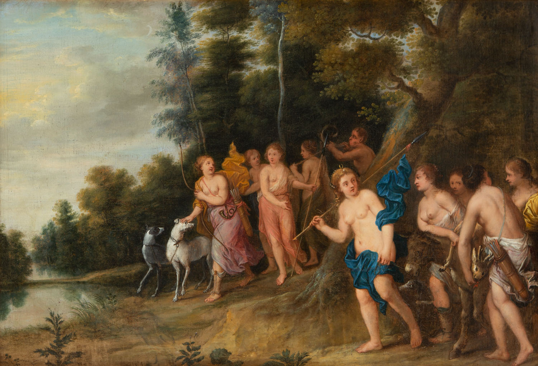 Frans Wouters, w typie (1612 Lier - 1659 Antwerpia)