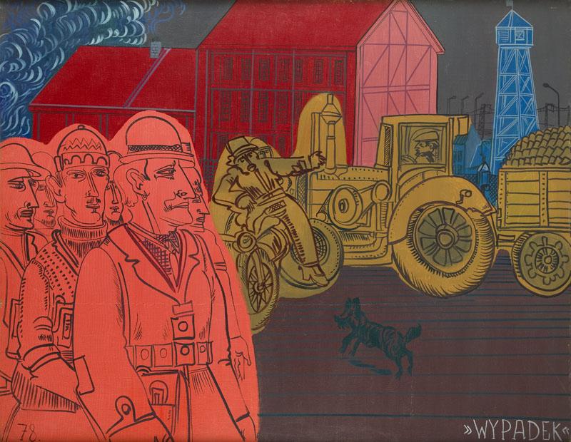 """""""Wypadek"""" z cyklu """"Chwila"""", 1972"""