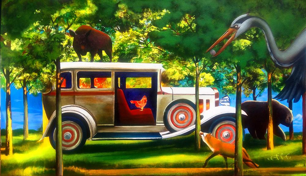 Kura w limuzynie, 2020