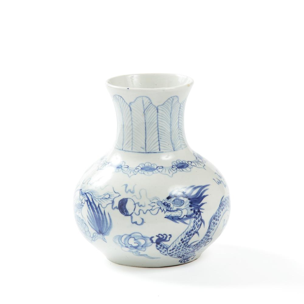 Wazon Qinghua, XIX/XX w.