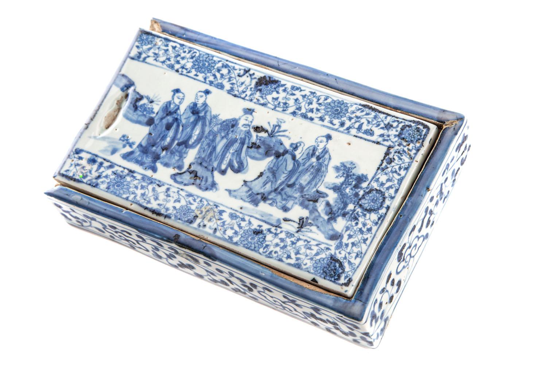 Pudełko na przybory do pisania, Chiny, XIX/XX w.