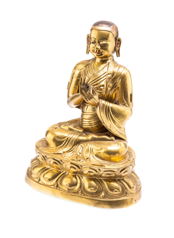 Lama Tsongkhapa, Tybet, XVIII w.