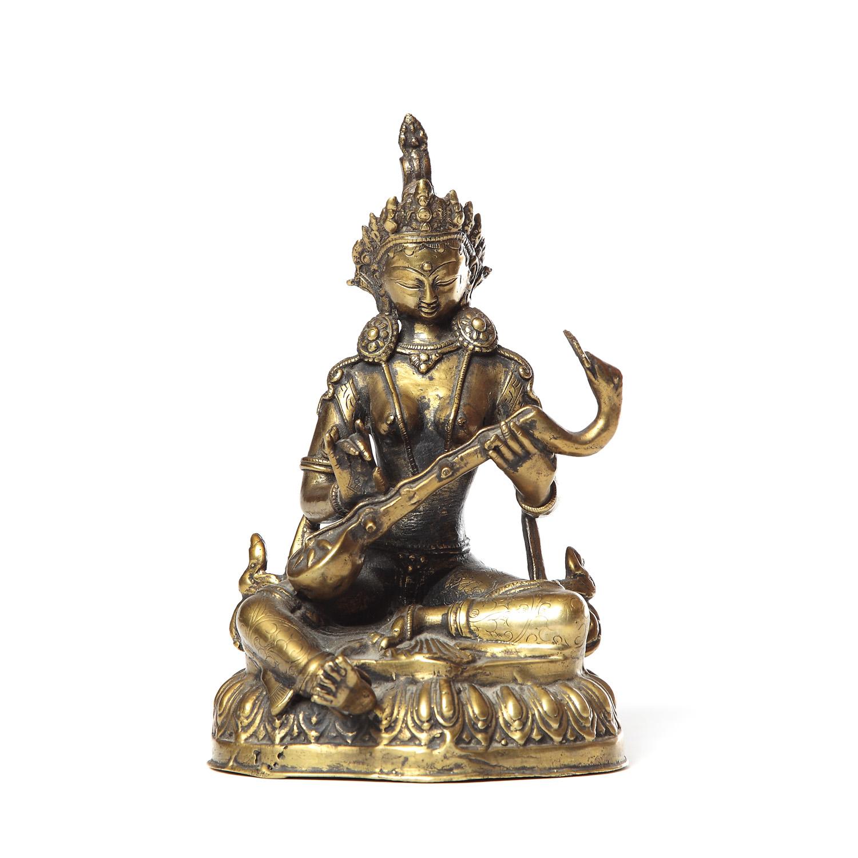 Figura – Wizerunek Bogini Saraswati, Tybet