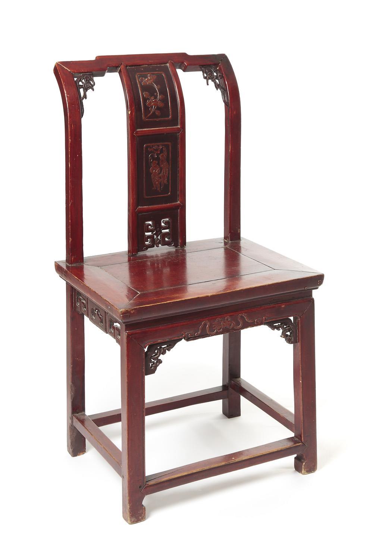 Krzesło, Chiny, XIX w.