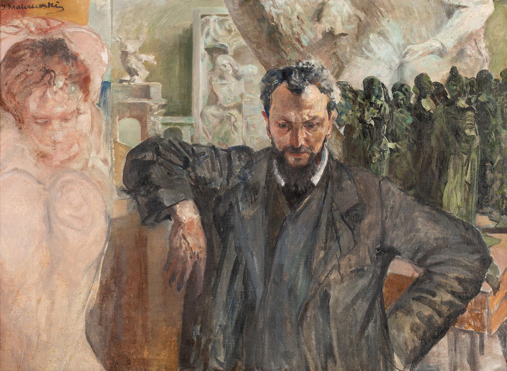 Portret Wacława Szymanowskiego w pracowni