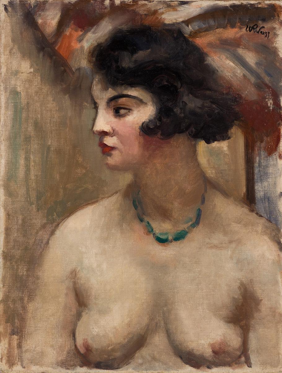 Portret kobiety, lata 20.
