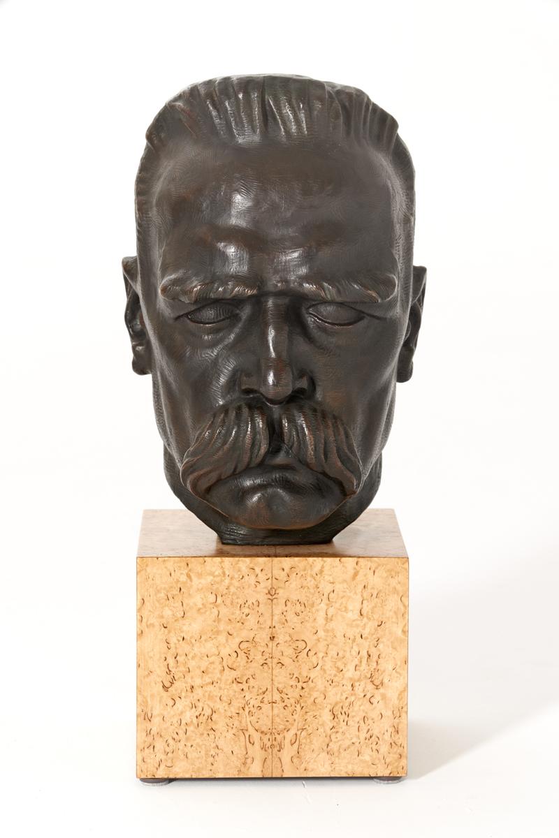 Głowa Marszałka Józefa Piłsudskiego, 1927 r.