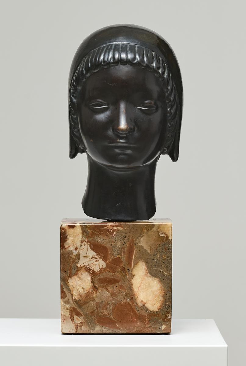 Głowa dziewczynki w kapturku, 1910