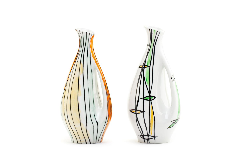 Para wazonów, lata 50. - 60. XX w.