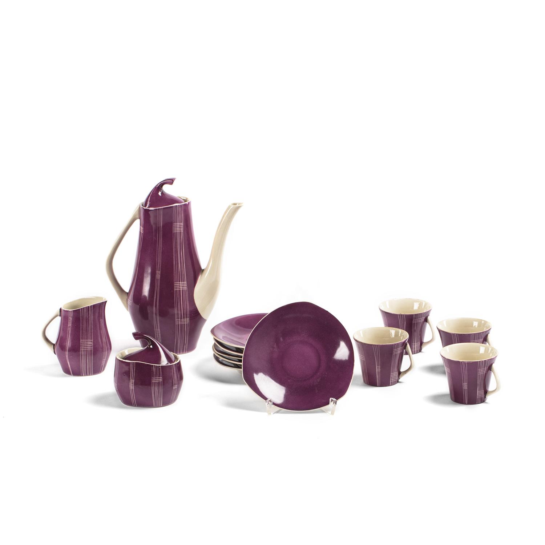 Serwis do kawy Iza, lata 50. - 60. XX w.