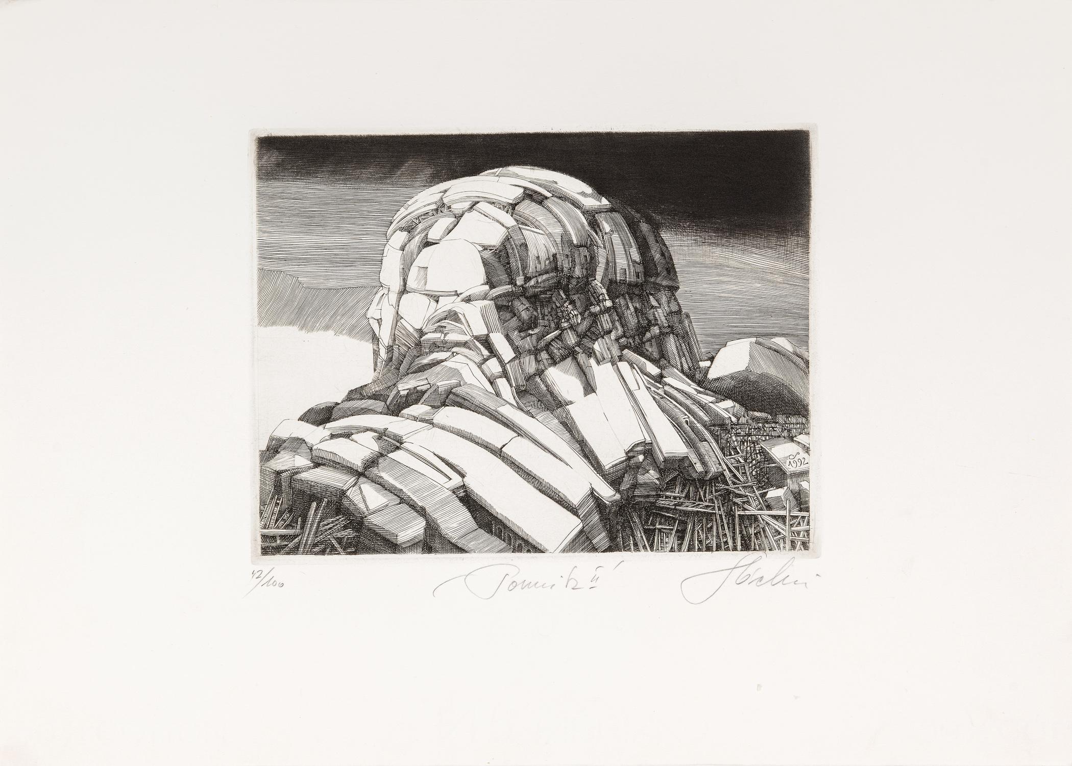 Pomnik II, 1992