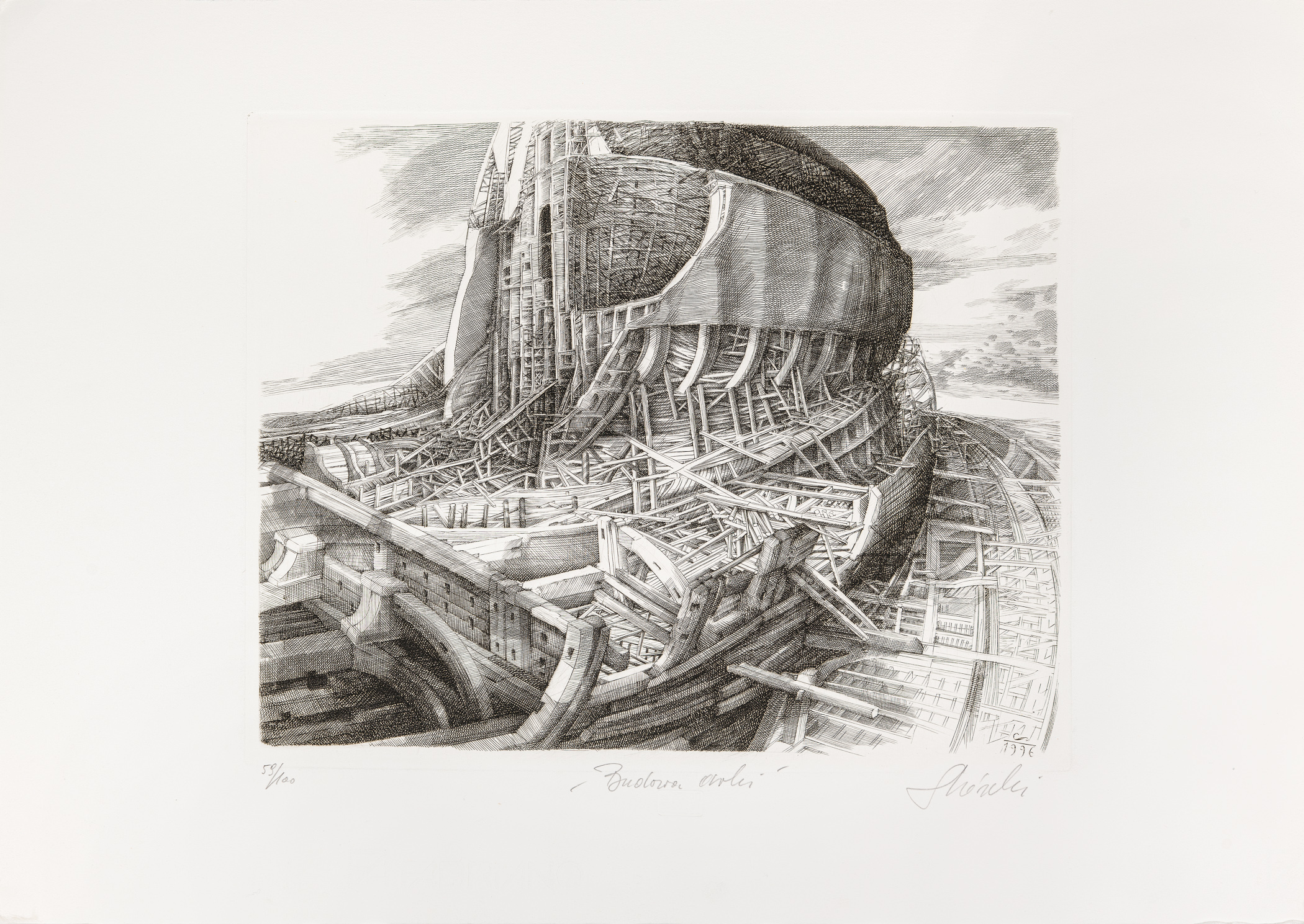 Budowa Arki, 1996