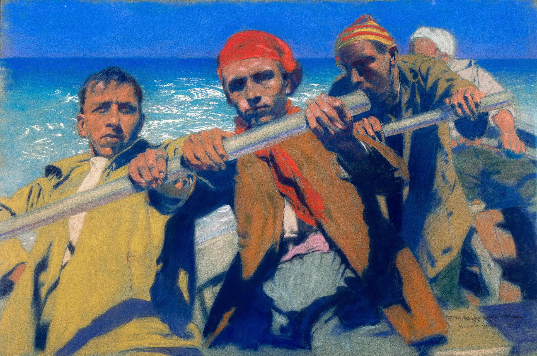 Morskie wilki, 1925 r.