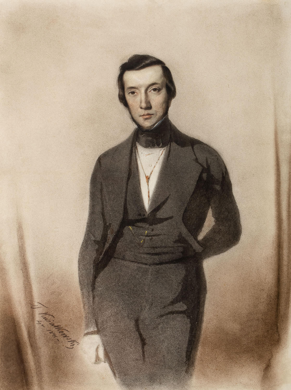 Portret mężczyzny, 1841 r.