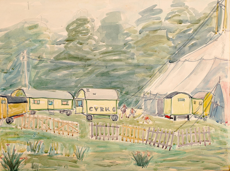 Cyrk, 1951 r.