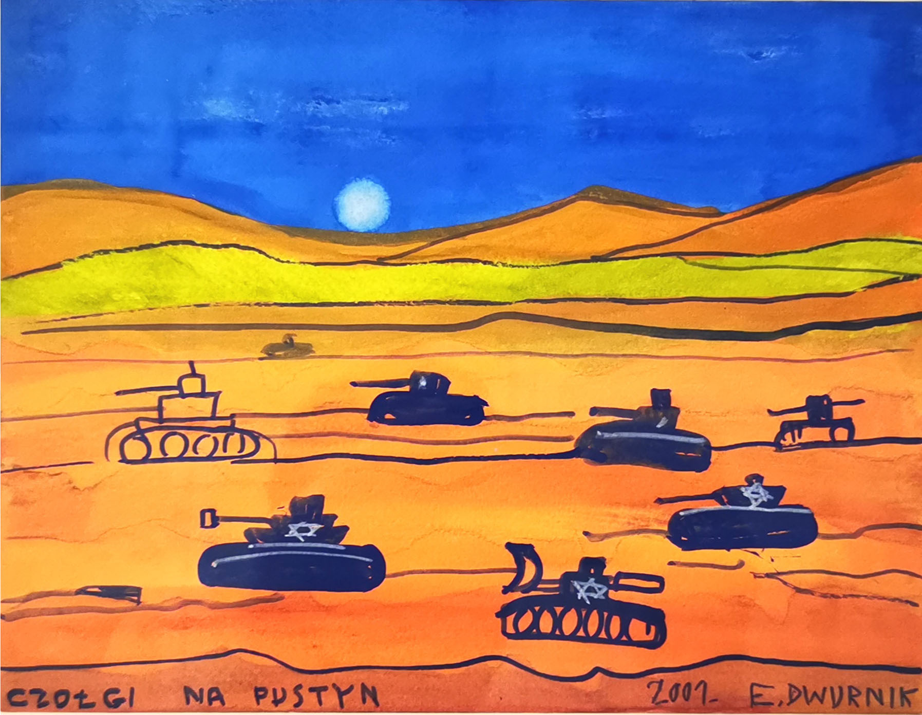 Czołgi na pustyni, 2001