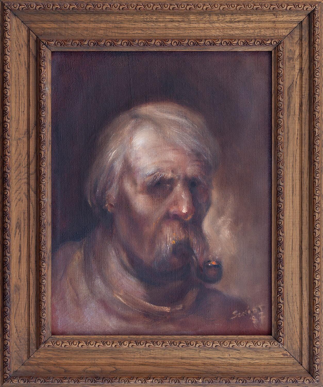 Palący fajkę, 1987