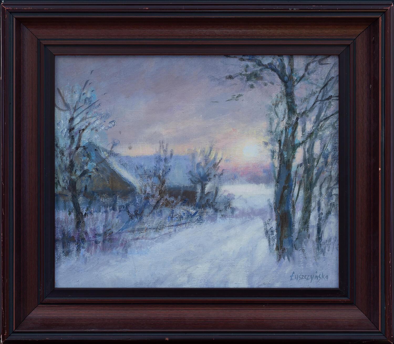 Zimowy zachód słońca, 1993
