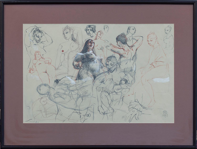 Szkice aktów kobiecych, 1993
