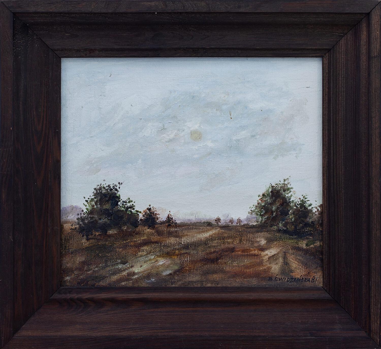 Pejzaż leśny, 1981