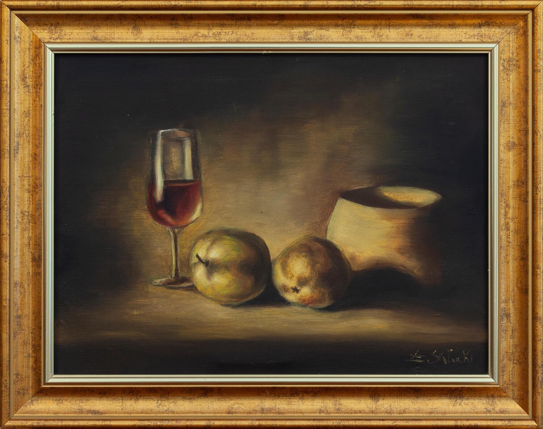 Martwa natura z kieliszkiem wina, 2005