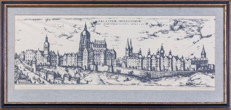Panorama Pragi czeskiej