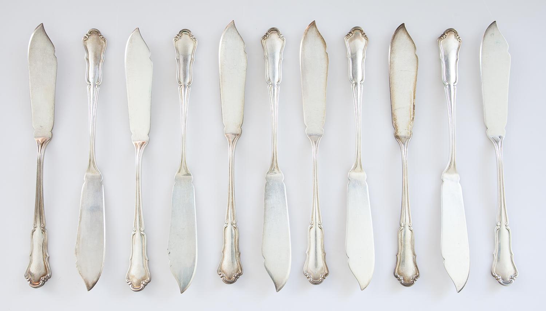 11 noży do ryb